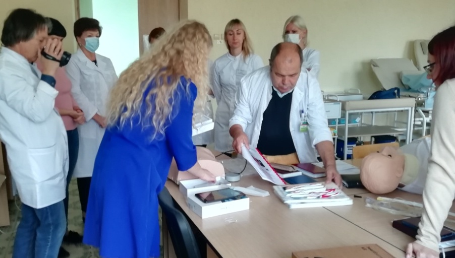 Borisov. Supply of simulation and demonstration equipment for skill laboratories in medical colleges